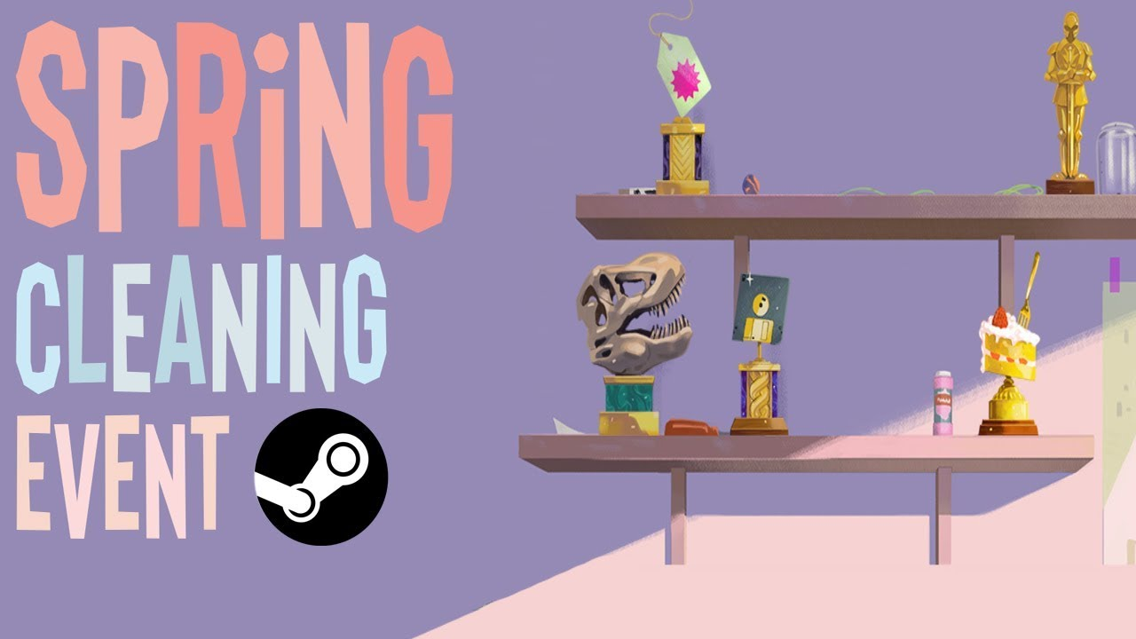 Spring Cleaning Steam 2020