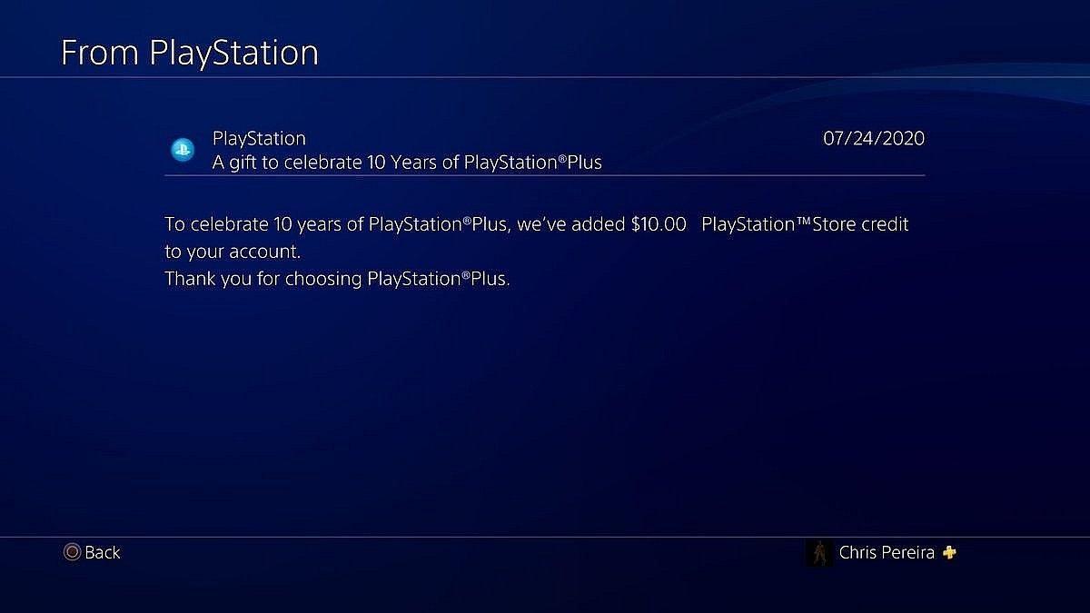 А ви вже отримали 10 євро або долларів на свій аккаунт у PS Store